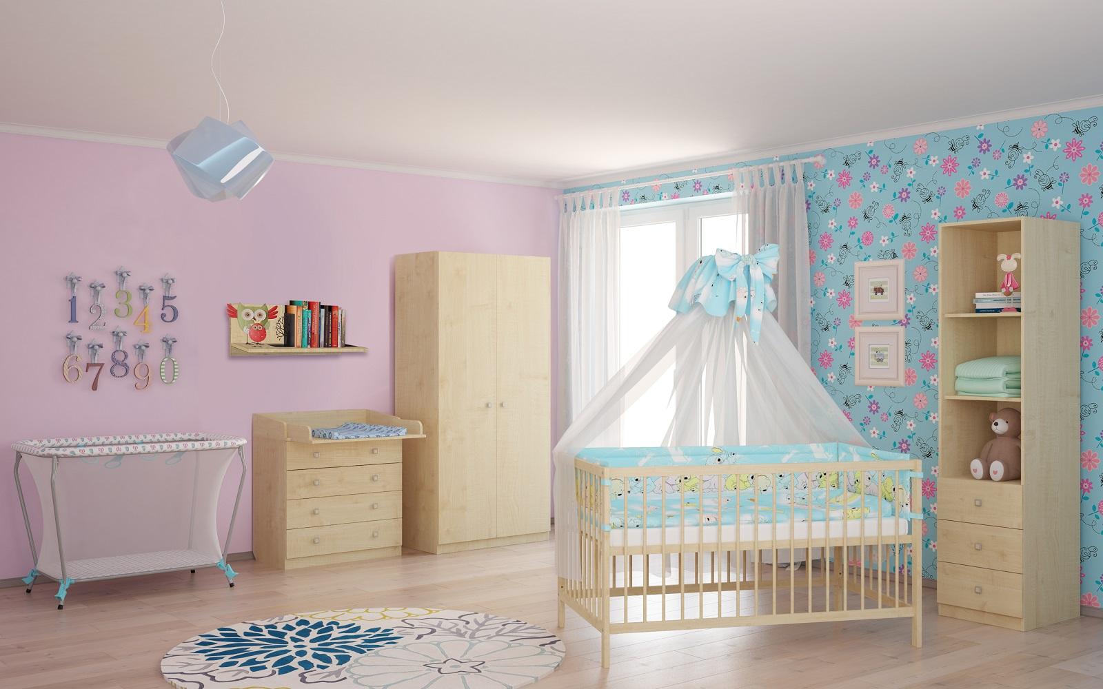 Polini-Kids-Baby-Wickelkommode-1580-in-verschiedenen-Farben